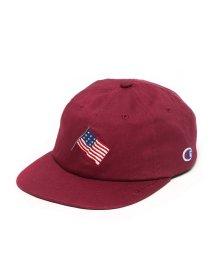 Champion/CHAMPION AMERICAN FLAG 6-PANEL  WINE/501523338