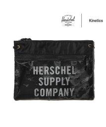 hershel supply/Herschel Supply Co. × Kinetics Alder EX Mesh  Black/Black Mesh 18SS-I/501523667