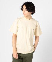 GLOSTER/【DANTON/ダントン】ポケット付Tシャツ JD-9041/501524414