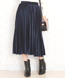 Amulet/ウエストゴムプリーツスカート 韓国 ファッション レディース ゆったり かわいい おしゃれ 動きやすい【A/W】【vl-5315】/501525384