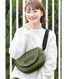 HAPPY EXP/ナイロンロゴサコッシュ/501526046