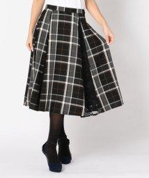 MISCH MASCH/チェックレース切替スカート/501367425