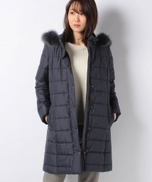 Leilian/【特別提供品】ファー付中綿コート/501472770
