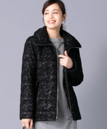 Leilian/【特別提供品】レース中綿コート/501481060
