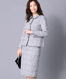Leilian PLUS HOUSE/【特別提供品】ツィードスーツ/501481339