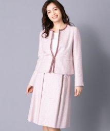 Leilian PLUS HOUSE/【特別提供品】スリーピーススーツ/501481424