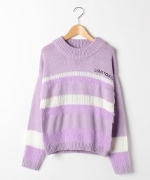 Lovetoxic/パネルフェザーニットセーター/501517919
