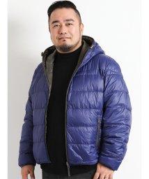 GRAND-BACK/【大きいサイズ】ナイロン20Dリバーシブルダウン/501525592