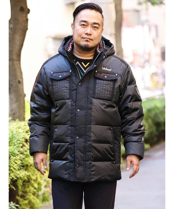 【大きいサイズ】バジエ/VAGIIE シャンブレータフタダウンブルゾン