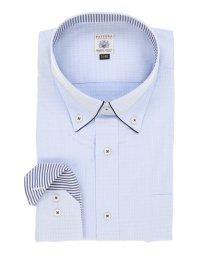 GRAND-BACK/【大きいサイズ】FATTURA(ファットゥーラ) 日本製綿100%ボタンダウン長袖ビジネスドレスシャツ/501525740