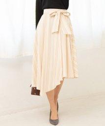 ViS/ツイルアシメヘムベルト付スカート/501526051