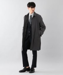 MACKINTOSH PHILOSOPHY/【britec / WELLINGTON】 BR604 2WAYダブルクロス ステンカラーコート/501529495