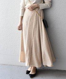 SHIPS WOMEN/《一部予約》レオパードフレアスカート◆/501530112