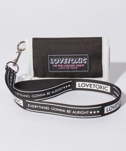 Lovetoxic(ラブトキシック)/ストラップつきミニ財布/8391405