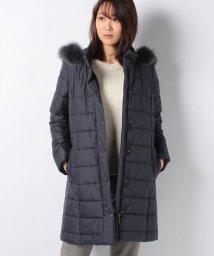Leilian PLUS HOUSE/【特別提供品】ファー付中綿コート/501480967
