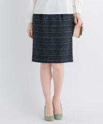 LANVIN en Bleu/【セットアップ対応商品】ツイードスカート/501487169