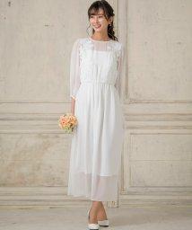 form forma/【結婚式・ウェディングドレス】シフォンスリーブロングウェディングドレス/501520955
