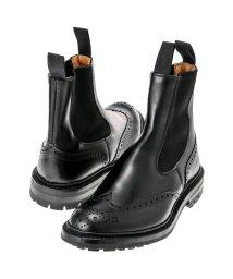 Tricker's/TRICKERS ヘンリー コマンドソール HENRY BLACK CALF COMMANDO SOLE 5 FIT 日本サイズ:25.0cm/501521781