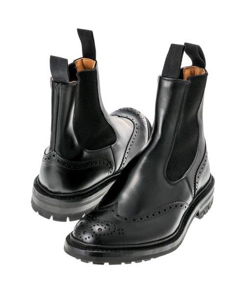 Tricker's(トリッカーズ)/TRICKERS ヘンリー コマンドソール HENRY BLACK CALF COMMANDO SOLE 5 FIT 日本サイズ:25.0cm/2754