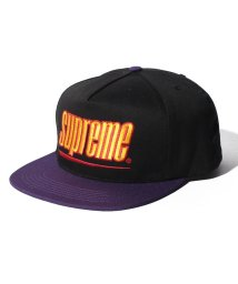 Supreme/UNDERLINE 6 PANEL CAP/501528165