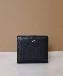 ninon/【本革】 リボンチャーム 二つ折り財布 / ミニウォレット/501529290
