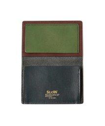 BEAMS MEN/【WEB先行販売】SLOW × BEAMS / 別注 クレイジー カードケース/501534210