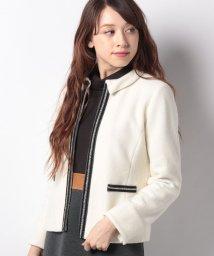 CARA O CRUZ/【特別提供品】パール風モチーフジャケット/501481043