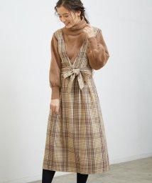 ROPE' PICNIC/チェック柄ジャンパースカート/501517005
