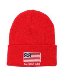 AVIREX/ニットキャップ スター&ストライプス/KNIT CAP STAR&STRIPES /501534295