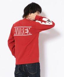 AVIREX/スターズ&ラインクルーネックTシャツ/STARS & LINE CREW NECK T-SHIRT/501534300