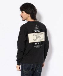 AVIREX/【TVドラマ着用】【Lightning 5月号】ワッペン ステンシル クルーネックTシャツ/WAPPEN STENCIL CREW NECK T-SHIRT/501534301
