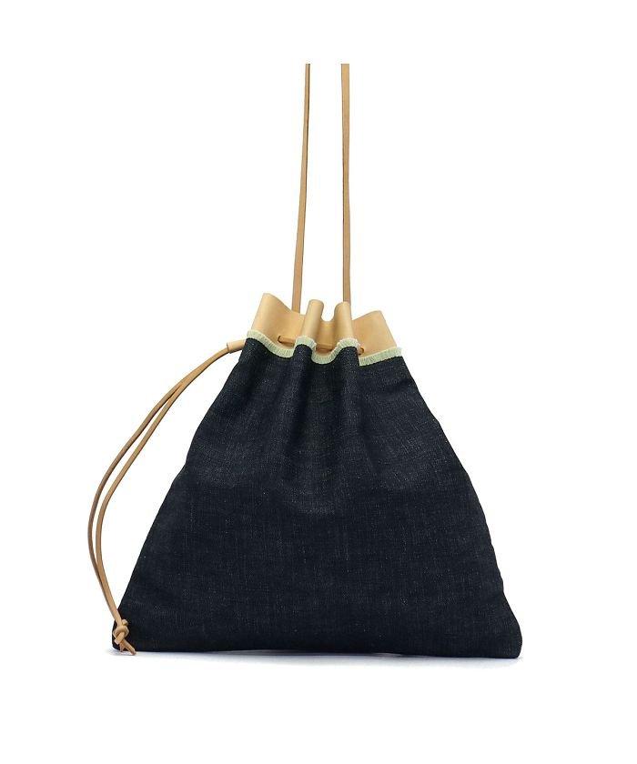 a895c454301b TOOLS(ツールズ)/ツールズ 巾着バッグ Tools by SLOW ツールズバイスロウ ショルダーバッグ