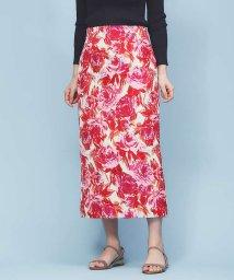 Rouge vif la cle/フラワージャガードタイトスカート/501535801
