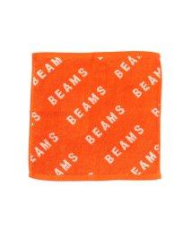 bPr BEAMS/BEAMS / バイアス ロゴ ハンド タオル/501367400