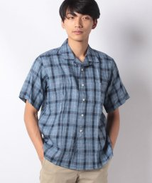 JOURNAL STANDARD MEN/LINEN デラベ CHK オープンカラーS/S/501490284