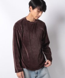 JOURNAL STANDARD MEN/VELOUR LONG CREW/501490302