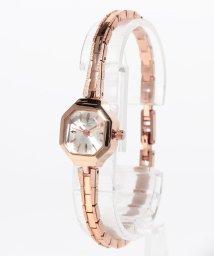 SELECT/〈Ara〉Elegant octagon watch/エレガント 八角形ケースウォッチ ブラス/501501433