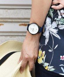 SELECT/〈Deep Dyed/ディープ ダイ〉Multifunction wrist watch/多機能ウォッチ グラモン/501501435