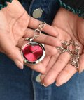 SELECT/〈nattito/ナティート〉 Heart transparent key chain watch/ハート型スケルトン懐中時計 キーチェーンタイプ/501501437