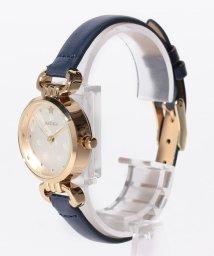 SELECT/〈nattito/ナティート〉Motif embossed watch ラッキー/501502095