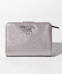 PRADA/【PRADA】2つ折り財布/SAFFIANO METAL ORO【CROMO】/501514167