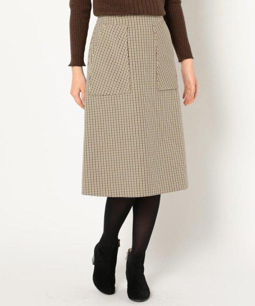 fredy emue(フレディエミュ)/ポケット付きスカート/8-0021-6-26-020