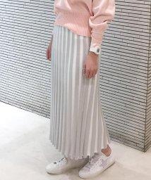fredy emue/プリーツ風ニットスカート/501530304