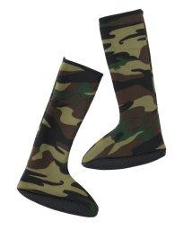 REAL STYLE/滑り止め付きロング丈ポソン靴下/501536799
