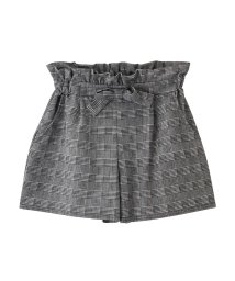 MAC HOUSE(kid's)/Navy リボン付きキュロットスカート 670-1875 NV-G/501537577