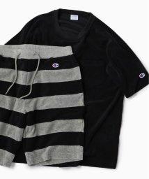 SHIPS MEN/Champion×SHIPS: 別注 NEW パイル セットアップ (Tシャツ×ショーツ)/501537954