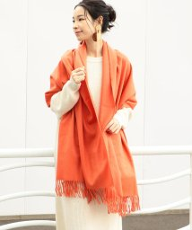 SHIPS WOMEN/JOHNSTONS:カシミヤストール orange/501537957