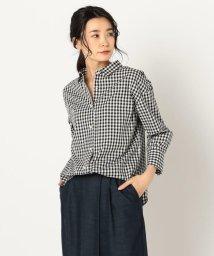 NOLLEY'S/パール釦裾2-WAYシャツ/501530316