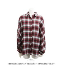 GROWINGRICH/[トップス]ボリューム袖チェックシャツブラウス[180908]/501536636