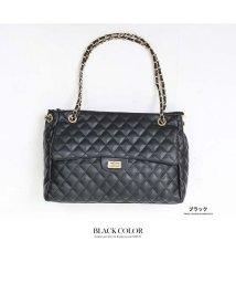 GROWINGRICH/[鞄 バッグ 雑貨 小物 アクセサリー]ゴールドチェーンキルティングバッグ[181107]/501536676